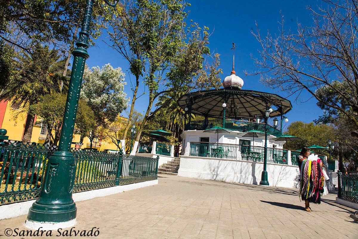 Plaza Principal de San Cristóbal de las Casas, Chiapas.