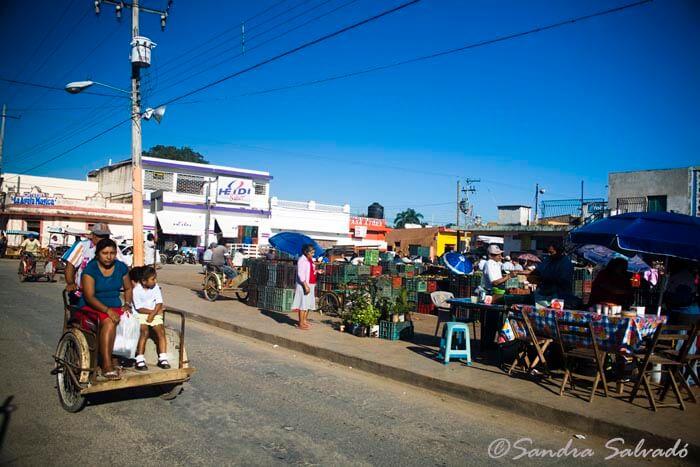 Oxkutzcab market