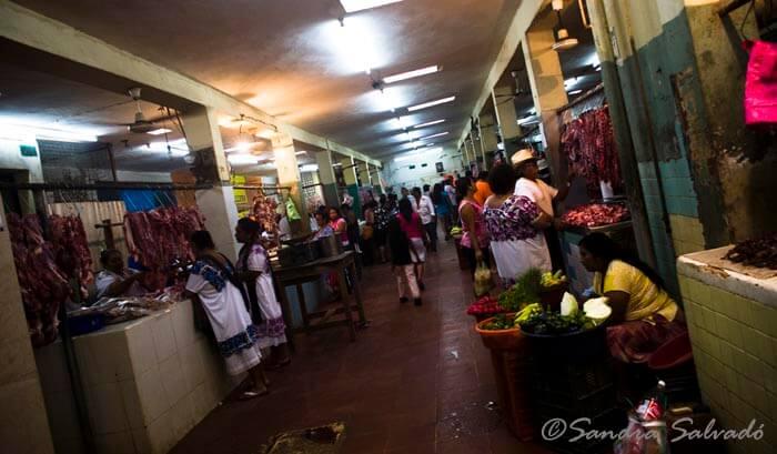 Oxkutzcab Yucatan market