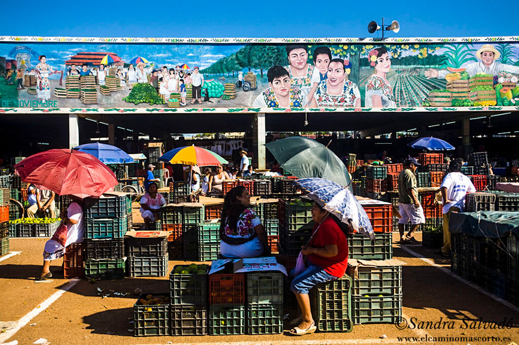 El mercado de Oxkutzcab