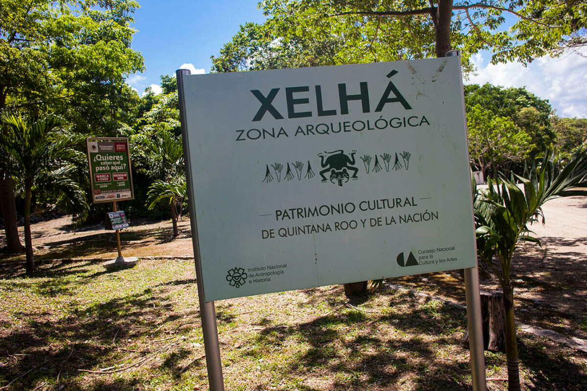 archaeological zone Xelhá