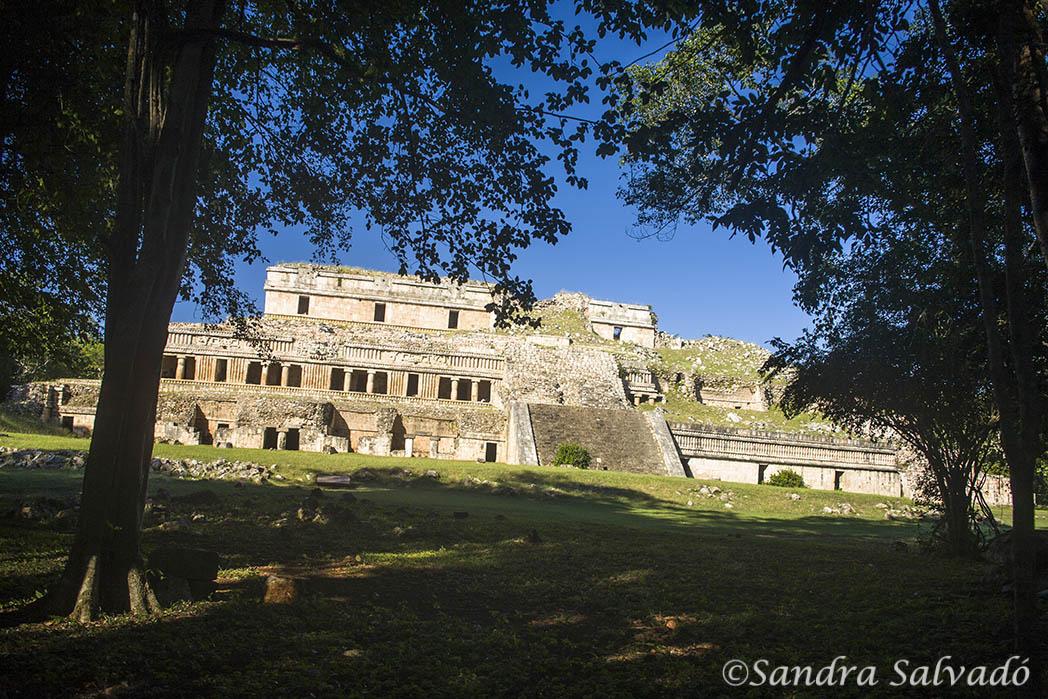 Zona arqueologica Sayil, Ruta Puuc, Yucatan
