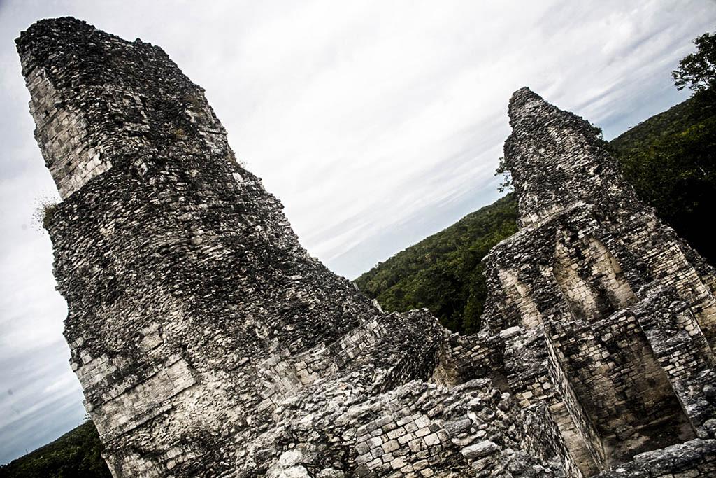 Xpuhil archaeological site, Yucatan, Mexico.