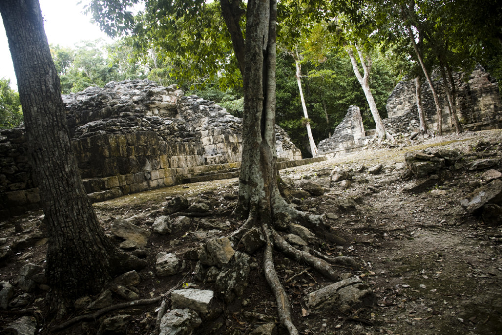 Chicanná archaeological site, Yucatan, Mexico.