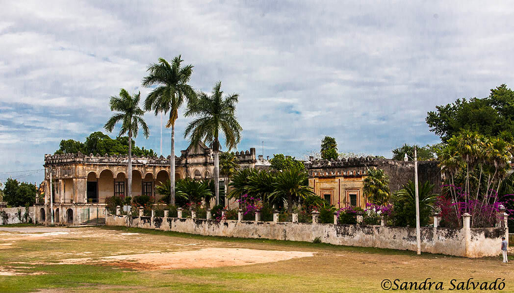 The old charm of the Hacienda Yaxcopoil