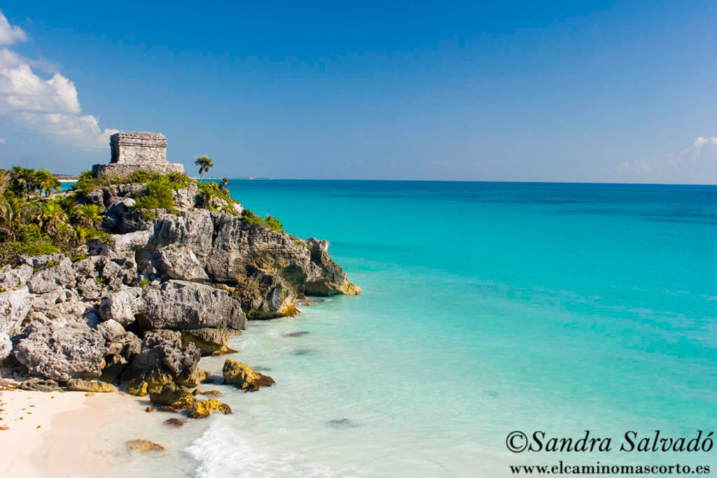 Tulum archaeological zone of Quintana Roo
