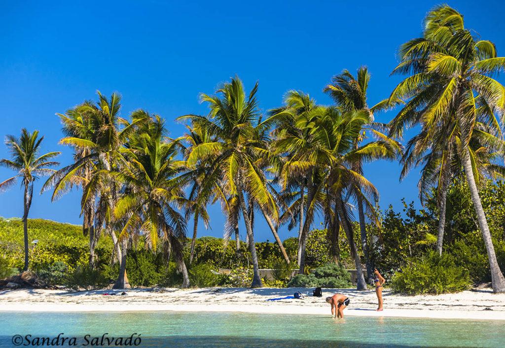 Playa de Riviera Maya, Quintana Roo, México.
