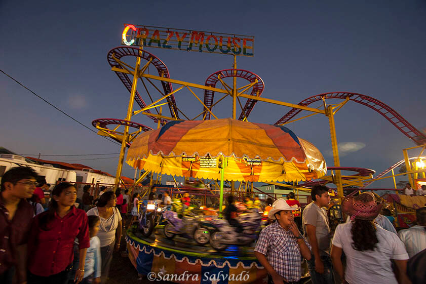 Activities at the fairgrounds in the cattle fair of Reyes de Tizimín. Yucatan, Mexico