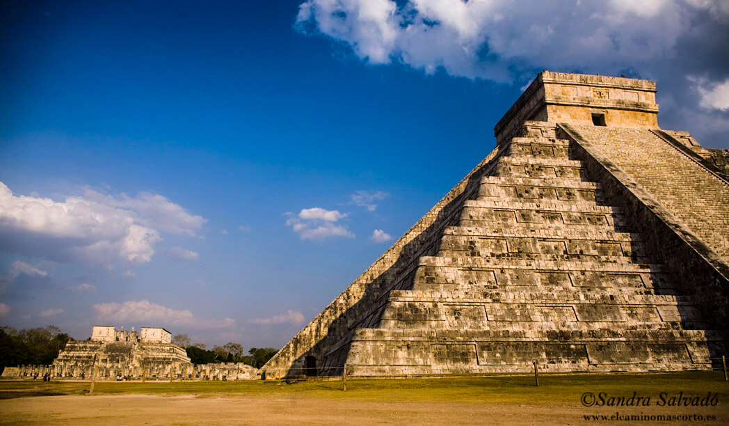 Pyramid of Kukulkan and Temple of the Warriors, Chichen Itza