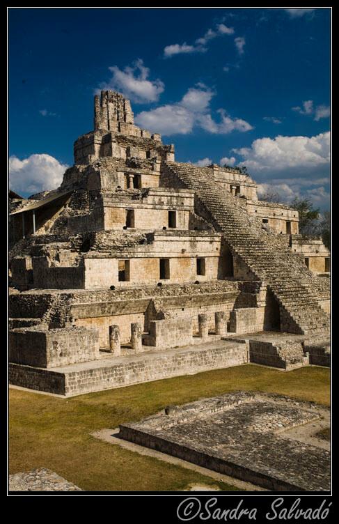 La escalinata se añadió en el Postlásico (900-1450 d.C)