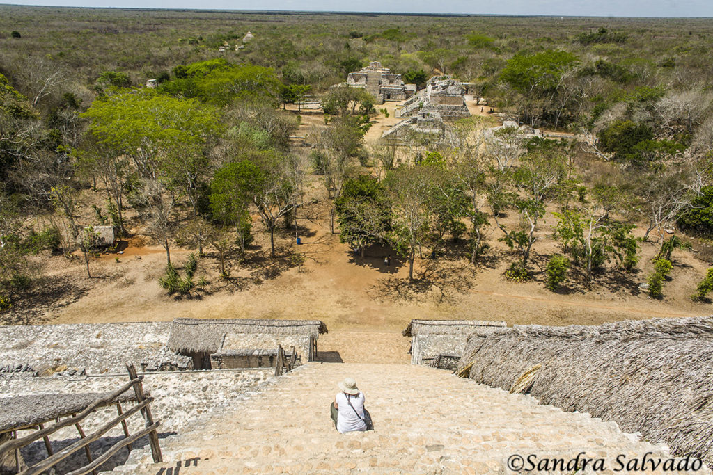 archaeological zone of yucatan