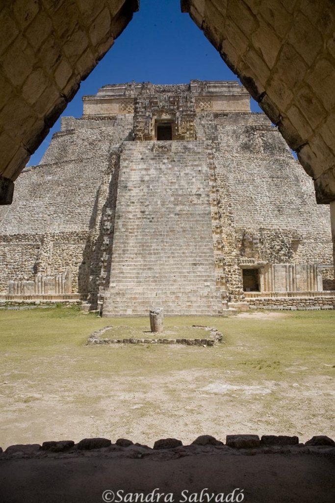 Uxmal Fortune Teller Pyramid