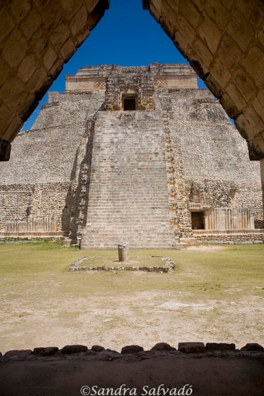 Piramide Adivino, Uxmal, yucatan