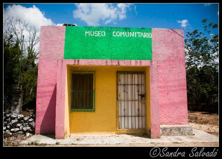 Mayan community museum El Naranjal