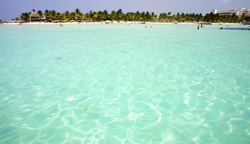 Playa Norte, Isla Mujeres, Cancún, Riviera Maya, Yucatán, México.