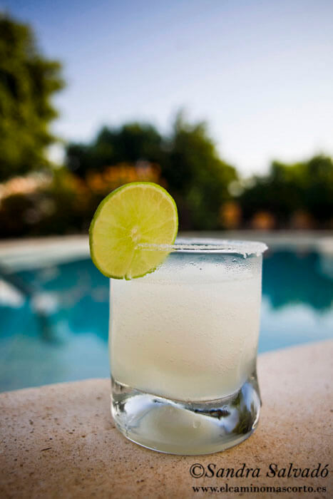 Margarita cocktail.