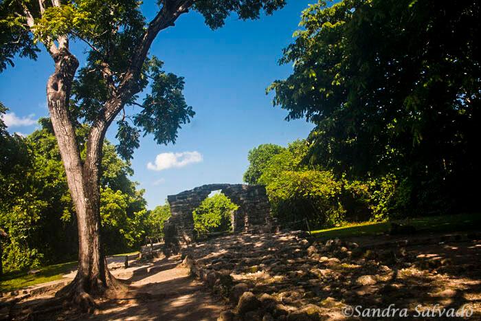 San Gervasio Ancient Mayan City In Cozumel
