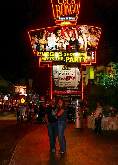 Coco Bongo, Cancun, Mexico.