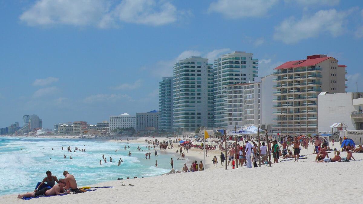 Playa Chac Mool, Cancún zona hotelera