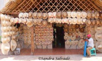 Tradiciones en Bécal, artesanos de los sombreros de jipi