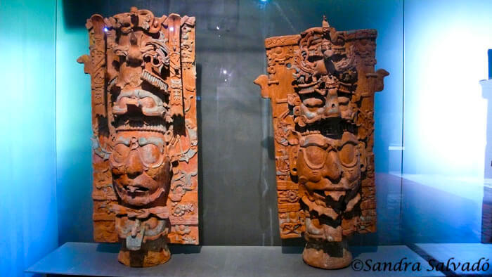 Palenque site museum, Chiapas, Mexico.