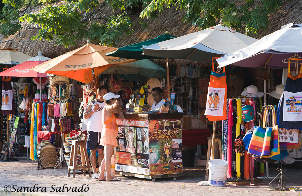 Souvenirs en Playa dle Carmen, Riviera Maya, México,