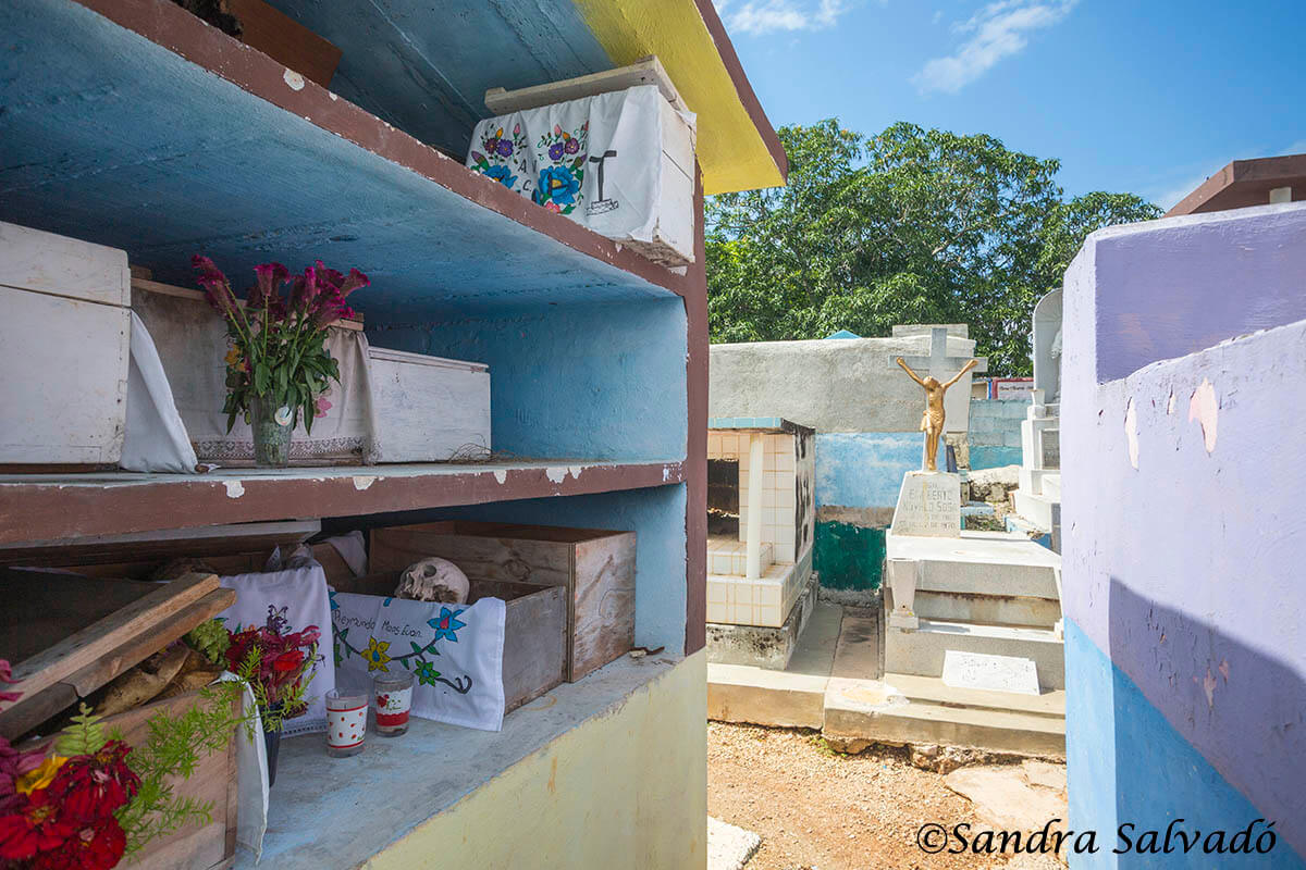 Cemetery of Pomuch, Campeche