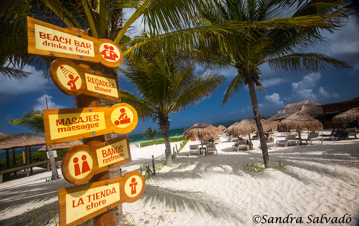 El Único, en  Puerto Morelos, Riviera Maya, Quintana Roo, México.