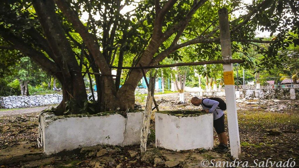 cenote San manuel hallazgos mayas
