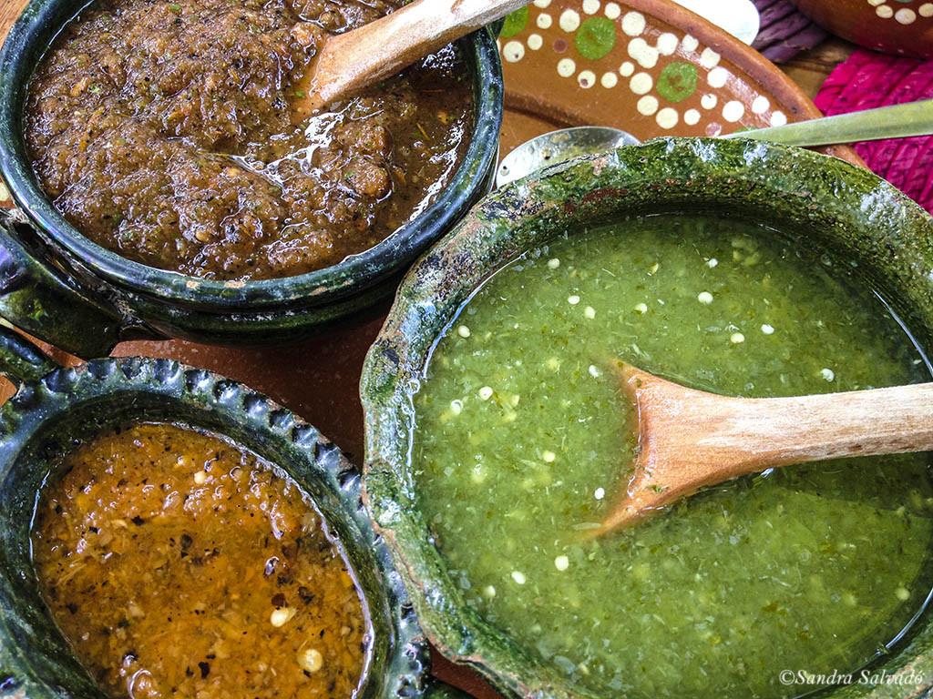 Salsas mexicanas.