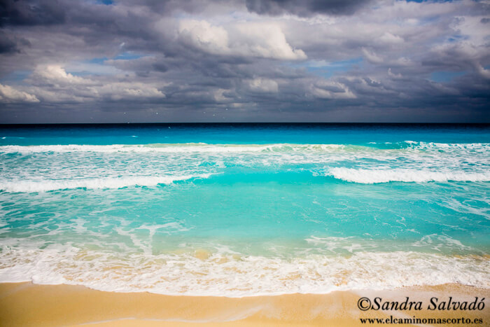 Cancun beach, Hotel Zone, Caribbean, Yucatan Peninsula, Mexico