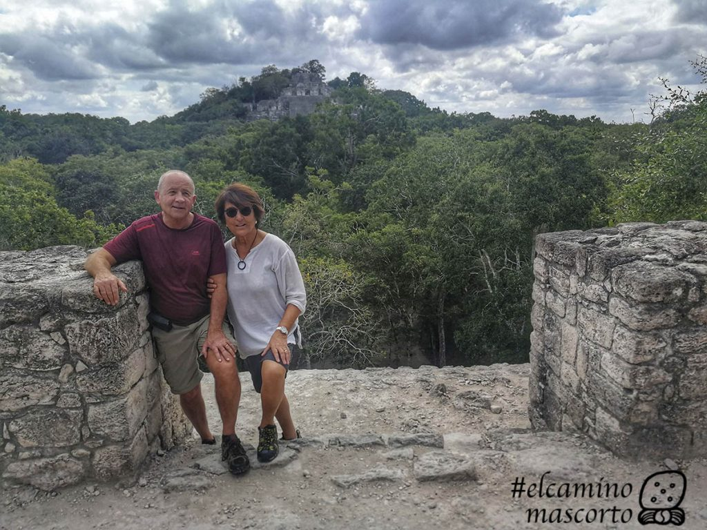 pyramid height calakmul