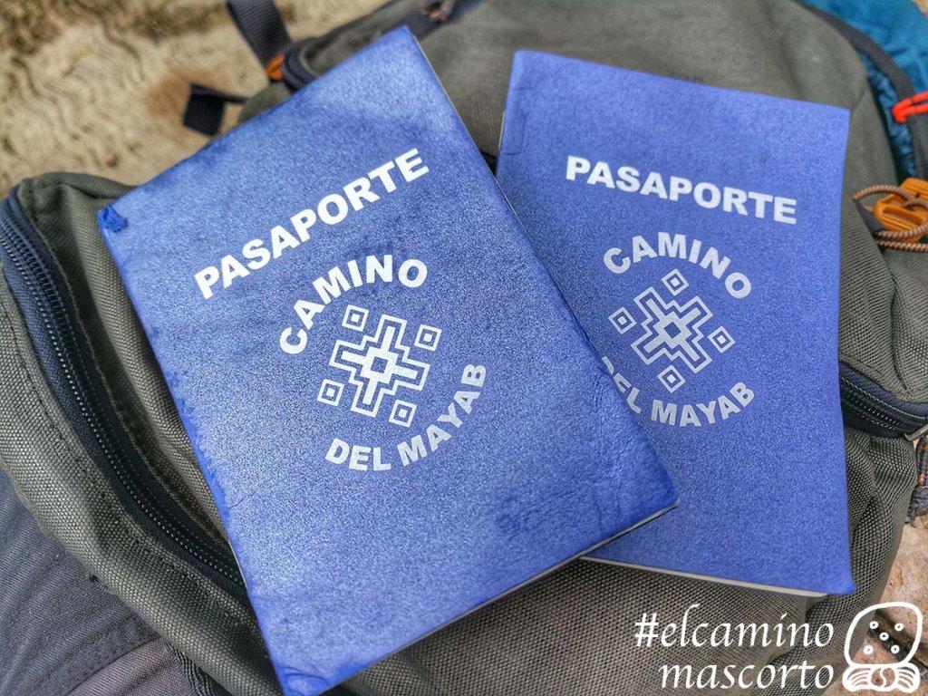 pasaporte Camino del Mayab