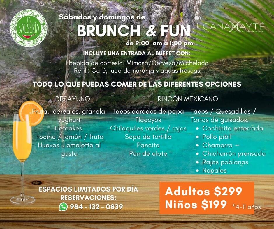 Disfruta en Canamayte Eco Park de 2 bellos cenotes y su sabroso restaurante 2