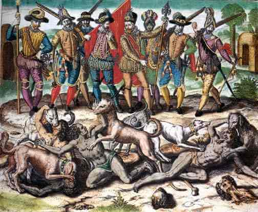 mayas_colonizador_español