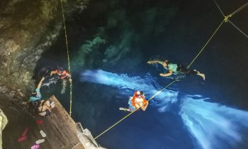 Cenote Acancun Azul, entre Sucila y Panaba