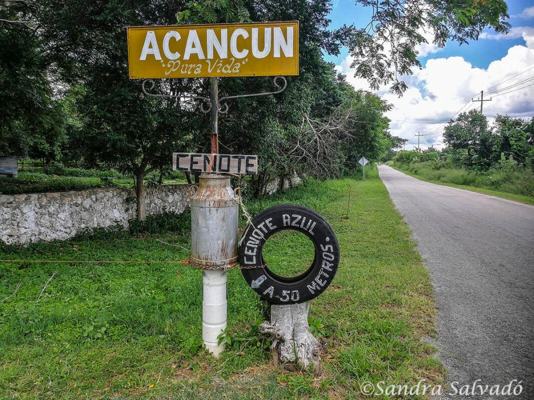 Cenote Acancun Azul, Yucatan