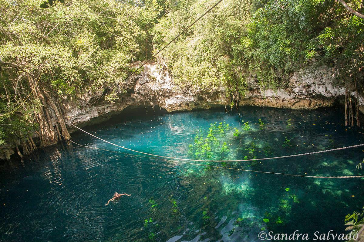 cenotes puerto morelos