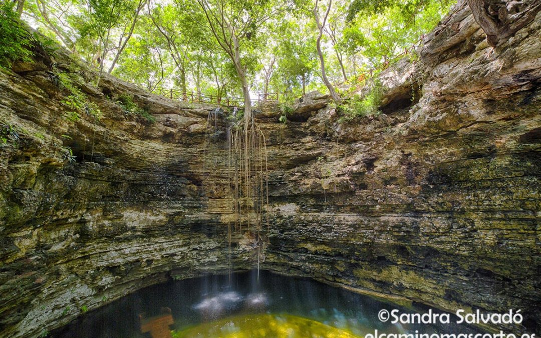 Chichikan cenote tourist parador