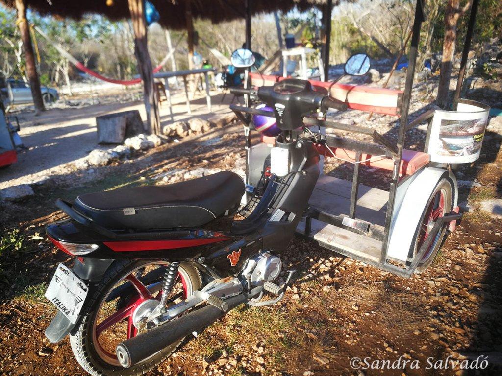 tours cenotes homun tricitaxi