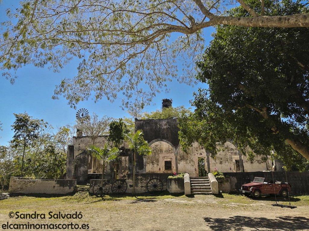 cenotes hacienda kampepen