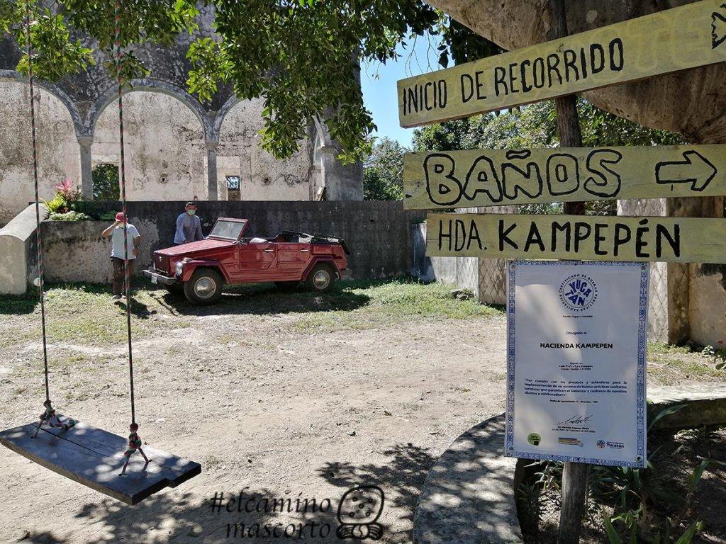 Cenote Hacienda Kampepen, Homun, Yucatan