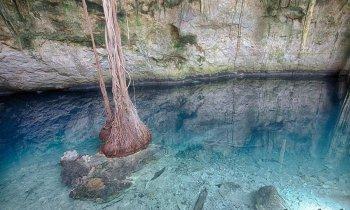 Cenote Santa Bárbara, Homún