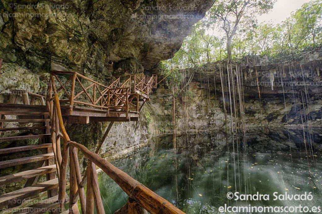 cenotes con cabañas