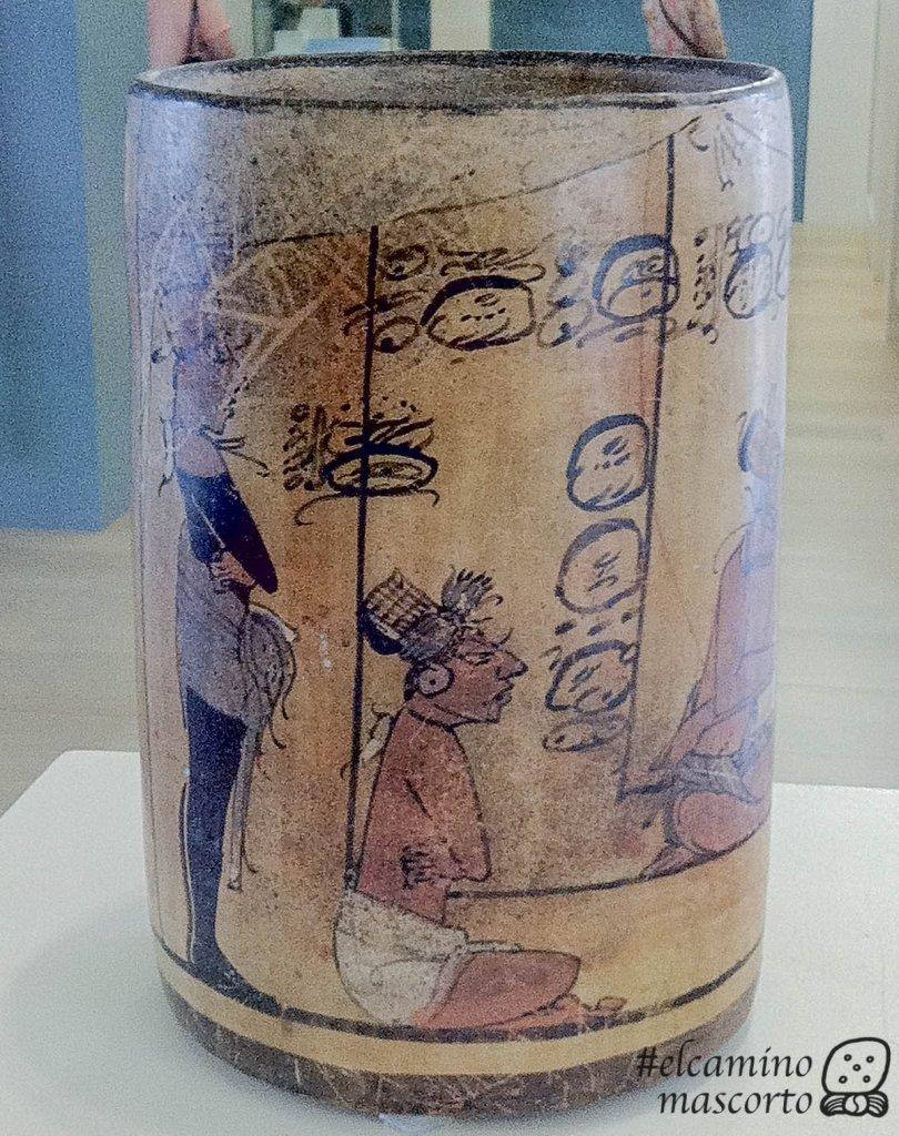 mayan writing vessel