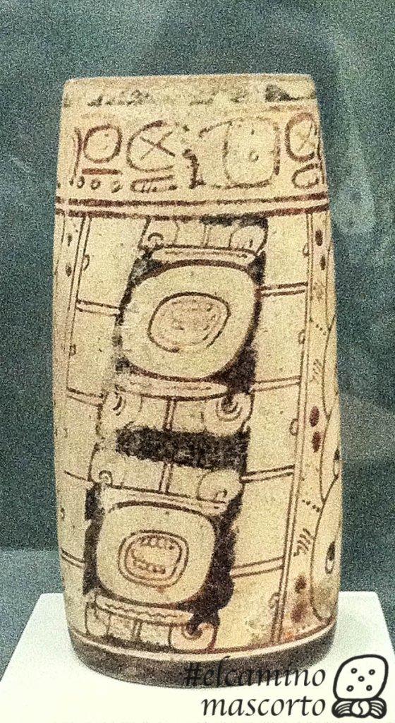vasija maya glifo