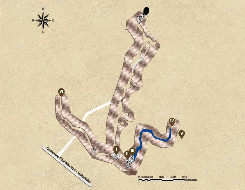 mapa balankanche