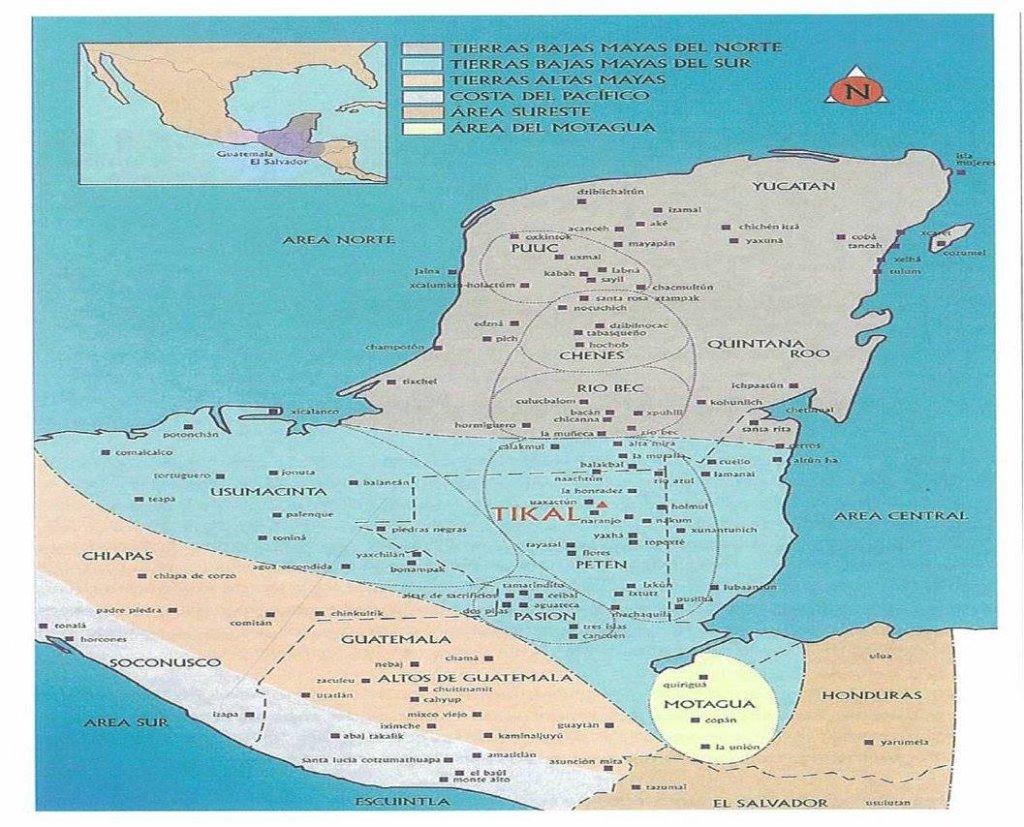 la llegada del colonizador a tierras mayas