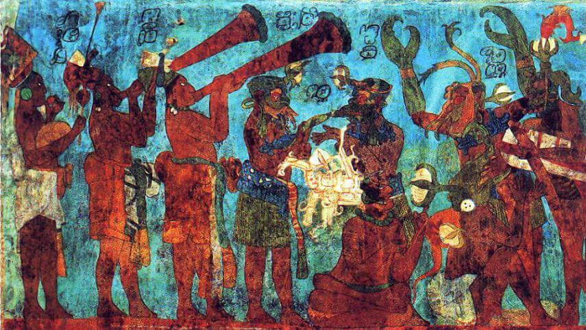 Mayan prehispanic music