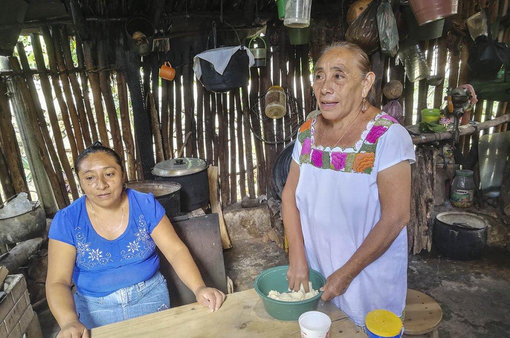 alimentacion de los mayas